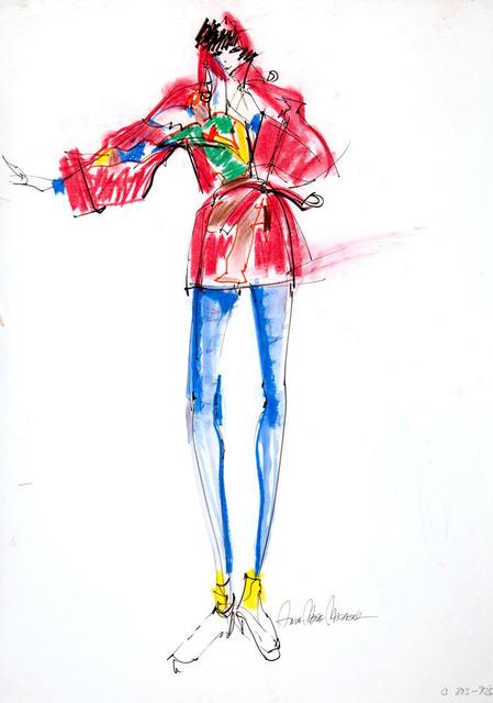 Anna Marie Magagna, 'Red Coat ', 1980, Madelyn Jordon Fine Art
