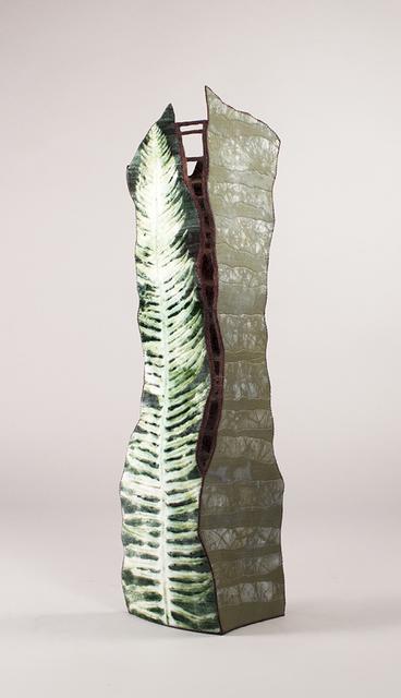 Cameron Anne Mason, 'Ravenna', 2020, Textile Arts, Silk, silk-rayon velvet, rayon, cotton, wool yarn, non-weaving innerfacing, rayon, cotton, and polyester threads on wood panel, Foster/White Gallery