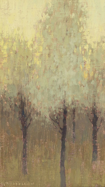 , 'White Trees at Dawn,' 2010-2015, Gallery 1261