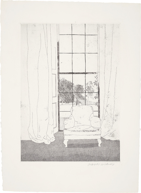 David Hockney, 'Home, from Illustrations for Six Fairy Tales from the Brothers Grimm', 1969, Phillips