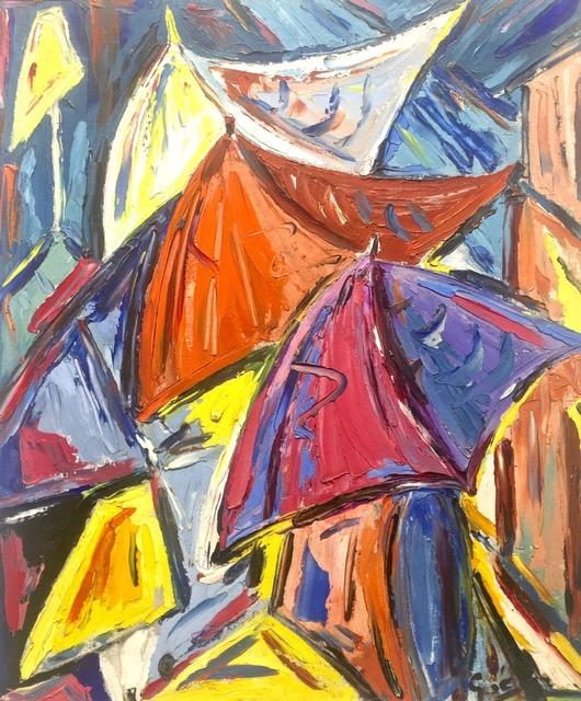 , 'Umbrellas ,' ca. 1970, Absolut Art Gallery