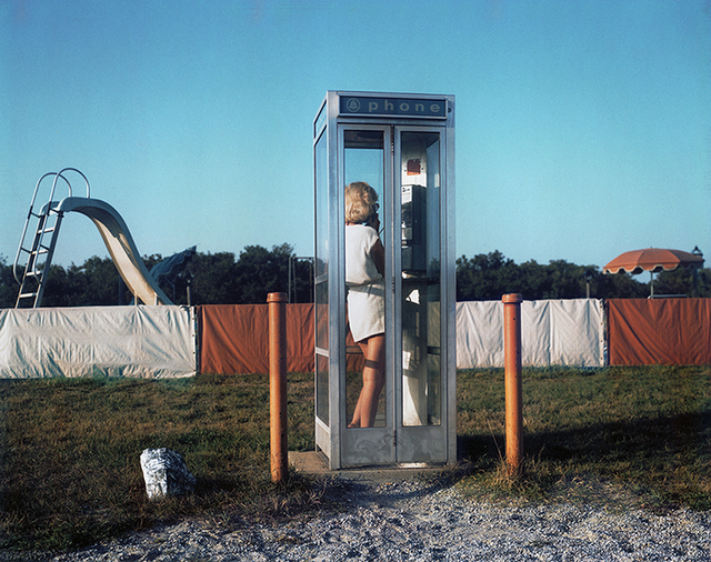 , 'Woman, Phone Booth, Turro, from not recent color,' 1980, Scott Nichols Gallery