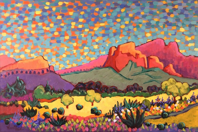 ", '""Arizona Monument"" ,' 2017, Bonner David Galleries"