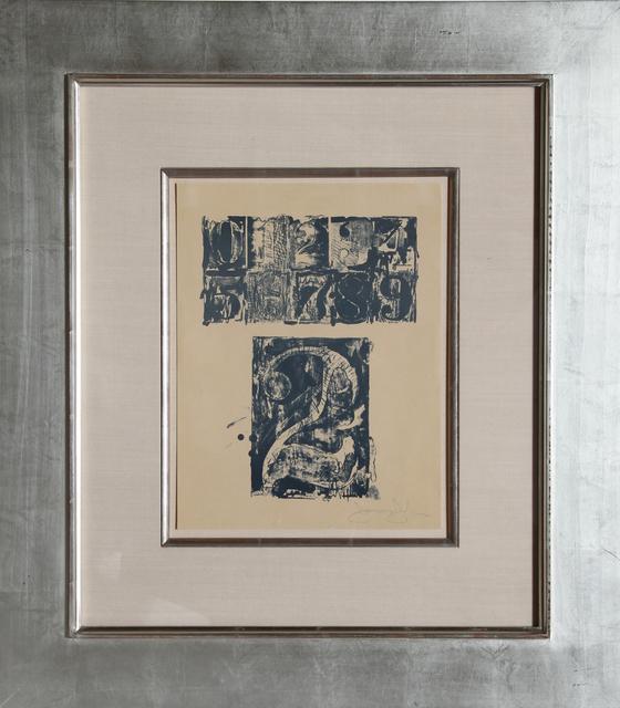Jasper Johns, '0-9, Number 2', 1963, Print, RoGallery