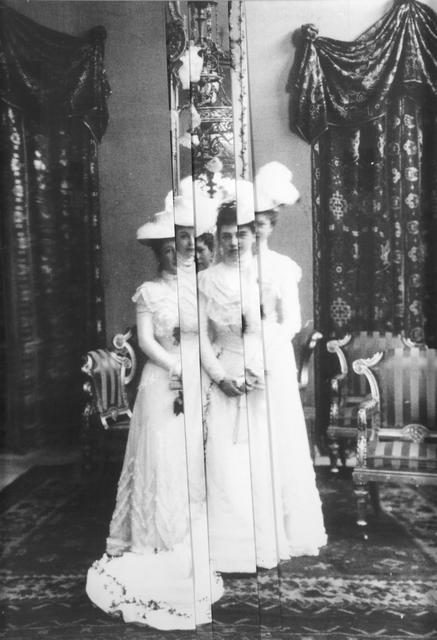 , 'Hofdamen (Erzherzogin Marie Henriette & die Schwestern Marie Alice, Isabella Maria Anna und Maria Christine 1908),' 2010, unttld contemporary