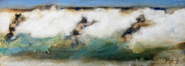 David Konigsberg, 'Surf Trio', 2010-2017, Eisenhauer Gallery