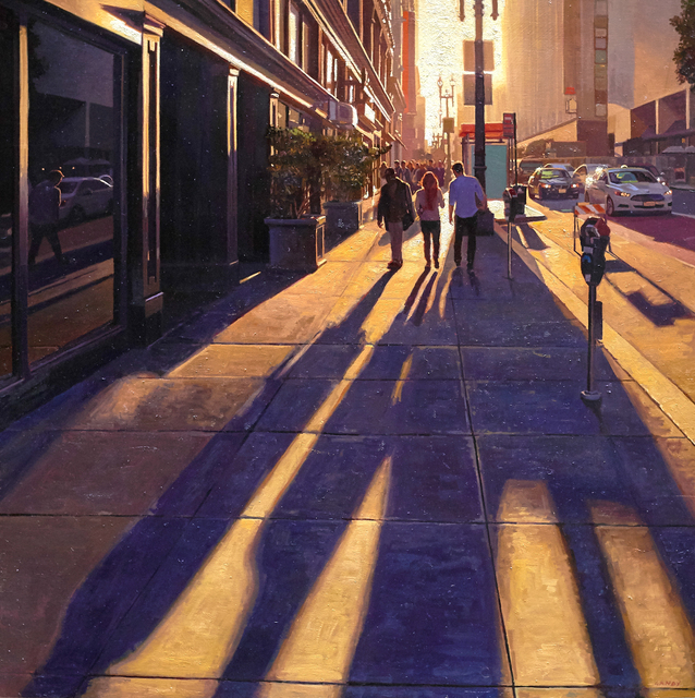 , 'Long Shadows on Geary #2,' , Gallery 1261
