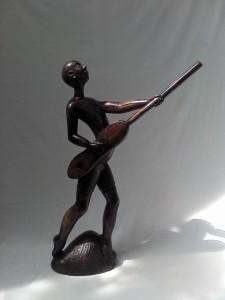 , 'Griot Playing His Guitar,' , Zenith Gallery