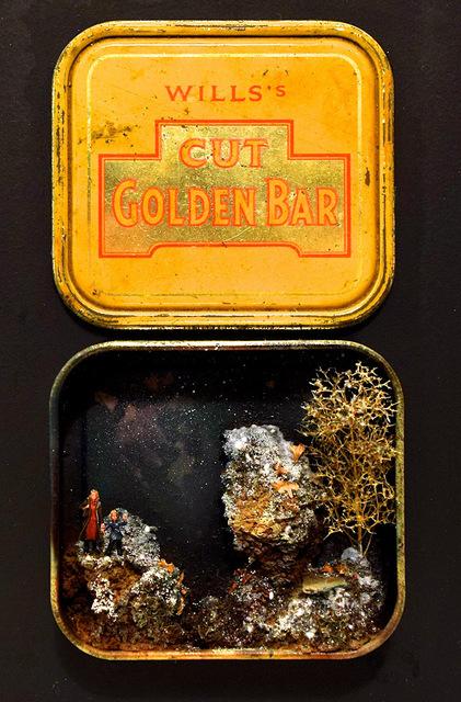 , 'Golden Bar II,' 2018, Hicks Gallery