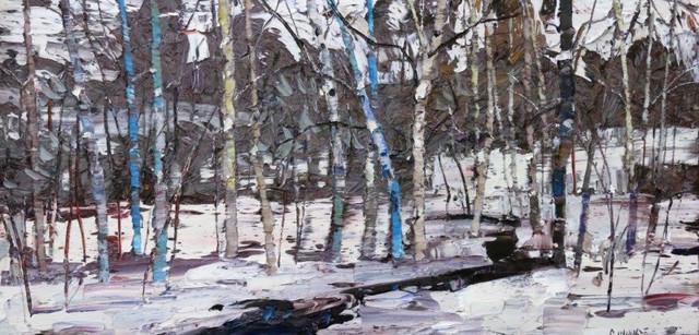 , 'January Creek,' 2016, Trailside Galleries