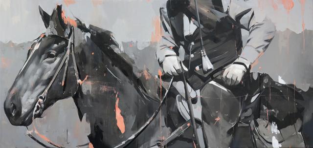 , 'Rider,' 2018, Abend Gallery