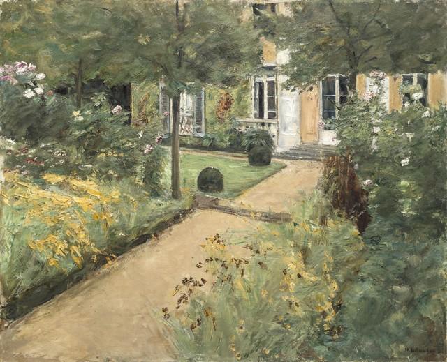 Max Liebermann, 'Der Nutzgarten in Wannsee nach Nordosten (The Garden in Wannsee Looking Northeast)', 1917, Galerie Thomas