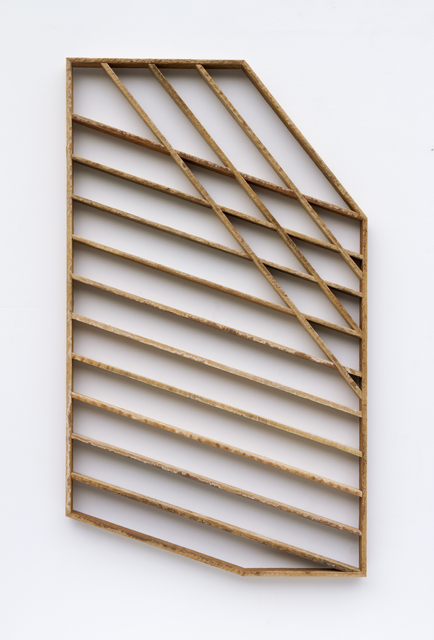 , 'Shadeshape 10 (corner fold),' 2016, Eleanor Harwood Gallery