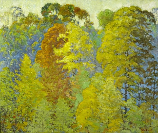 Ross Braught, 'Autmn Foliage', ca. 1925, Painting, Oil on Canvas, Private Collection, NY