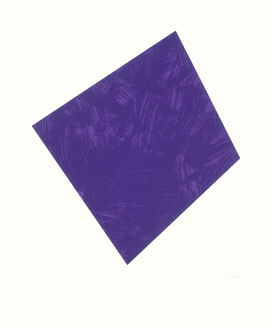 , 'Untitled (Purple),' 1988, Lora Reynolds Gallery