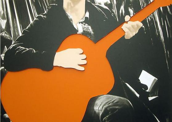 , 'Person with Guitar (Orange),' 2004, Posner Fine Art