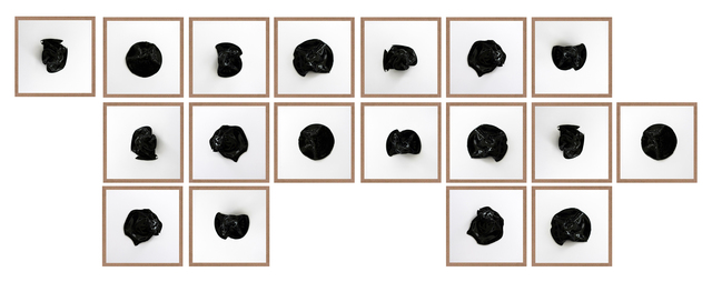 , 'Untitled (All Tomorrow's Parties Black 18),' 2016, Machete