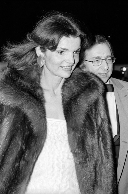 , 'Jackie Onassis at the Metropolitan Museum Costume Gala,' 1976, Madelyn Jordon Fine Art