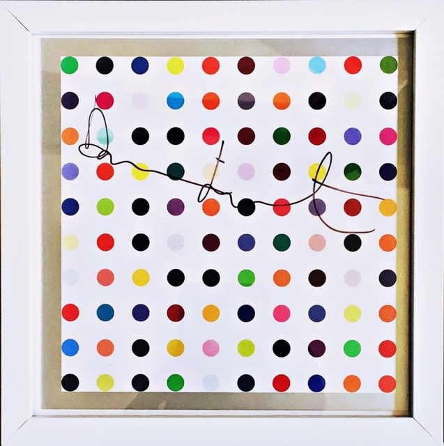 Damien Hirst, 'Spots (Hand Signed)', ca. 2012, Alpha 137 Gallery Auction