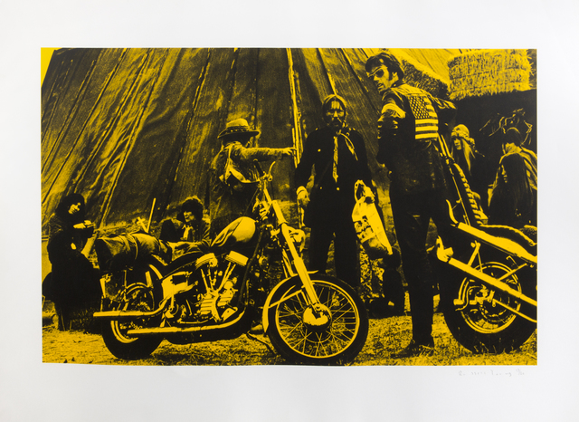 Russell Young, 'Easy Rider (Yellow)', 2007, Julien's Auctions