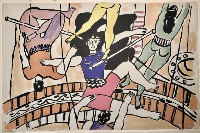Fernand Léger, 'Circus - Trapeze Artists', 1950, Theodore B. Donson Ltd.