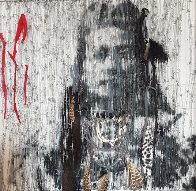 , 'Reserved ,' 2018, Quantum Contemporary Art