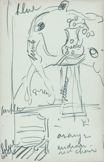 , 'Sketchbook 21,' 1913, Montclair Art Museum