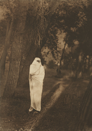 Edward Sheriff Curtis, 'Waiting in the Forest, Cheyenne,' 1910, Phillips: The Odyssey of Collecting