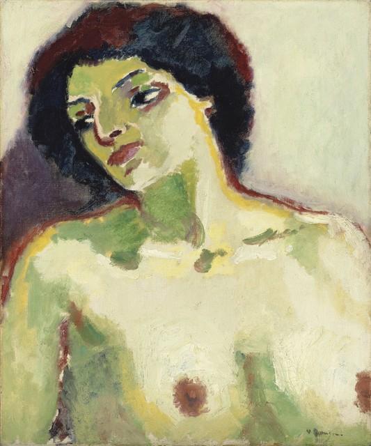 , 'Buste de femme nue,' 1911, BAILLY GALLERY