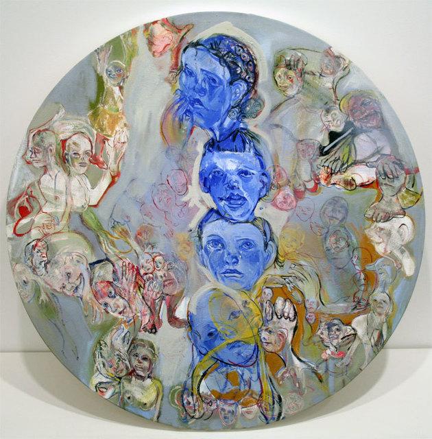 , 'Blue Totem,' 2005, Betty Cuningham