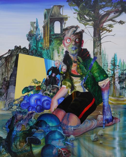 , 'La Noche de Lázaro (Lazaro's night),' 2017, SGR Galería