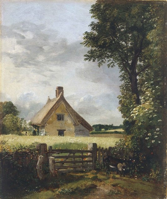 , 'A Cottage in a Cornfield,' 1817, American Federation of Arts