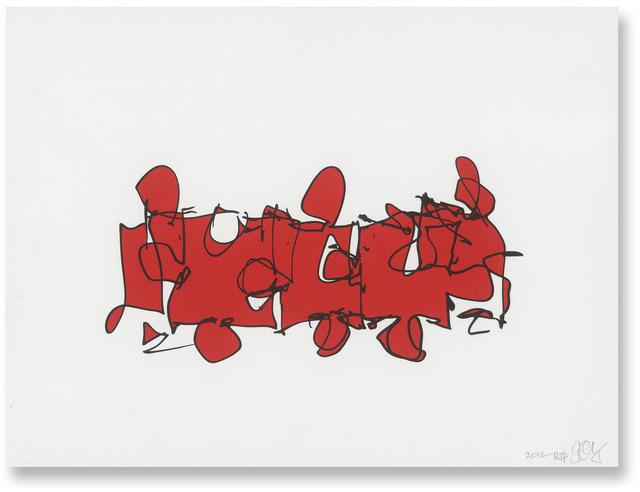 , 'Puzzled #1 (State B),' 2013, Gemini G.E.L. at Joni Moisant Weyl