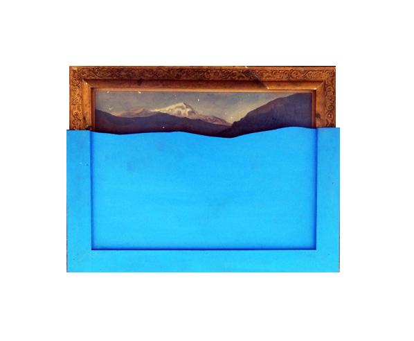 , 'The Blue Screen,' 2014-2015, Exhibit 320
