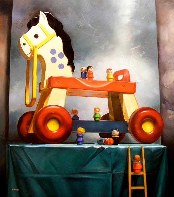 Margaret Morrison, 'Trojan Horse', 2010, Woodward Gallery