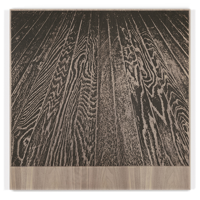 , 'Wooden Floor on Wood (One-Point Perspective),' 2017, Gemini G.E.L. at Joni Moisant Weyl