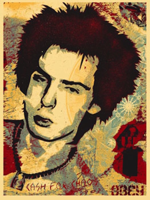Shepard Fairey (OBEY), 'Sid Jocoy, from This is your God Series (Large Format)', 2003, Gregg Shienbaum Fine Art