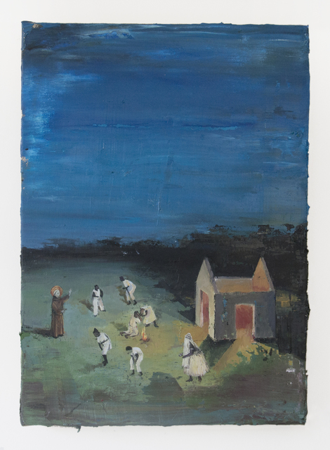 , 'The blessed Ranieri saluting Candomblecistas at an abandoned windmill,' 2016, Athena Contemporânea