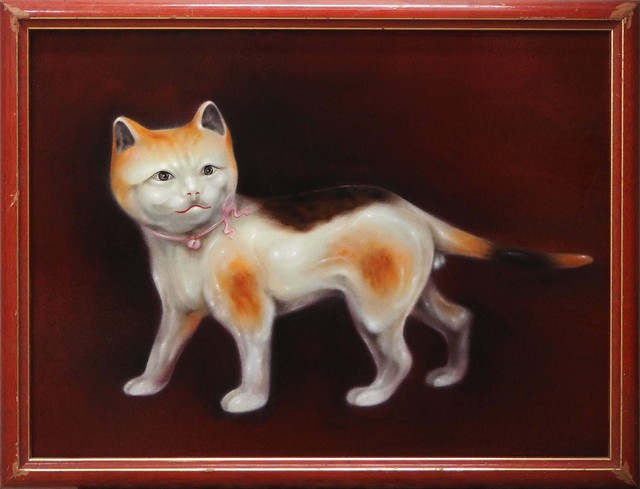 Lu Hao-Yuan, 'Calico Cat', 2018, Painting, Oil on canvas, Lin & Lin Gallery