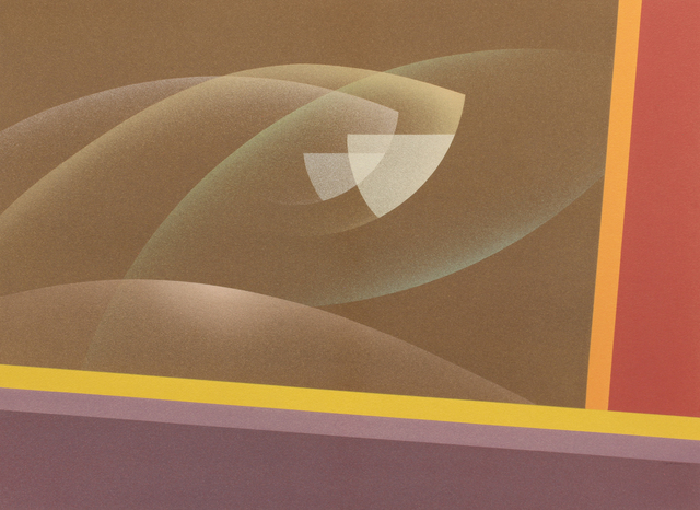 Raymond Jonson, 'Watercolor No.10, 1948 - Sequence-A Trilogy, Third Vista ', 1948, Painting, Watercolor on paper, Addison Rowe Gallery