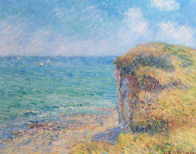 , 'Les Falaises de Puys,' 1901, Trinity House Paintings