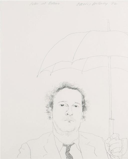 David Hockney, 'The Restaurateur ', 1972, Lyndsey Ingram