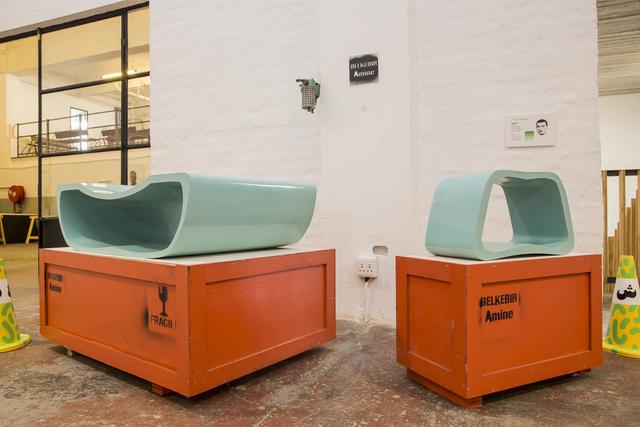 , 'Table Verda & Tabouret Verda,' 2015-2016, Museum of African Design (MOAD)