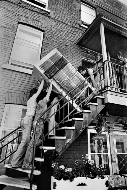 , 'Demenagement,' 1977, The Print Atelier