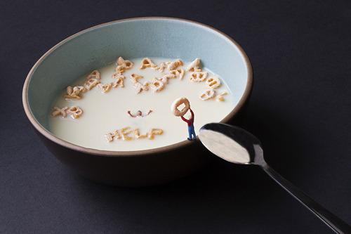 , 'Cereal rescue,' , Marcia Rafelman Fine Arts