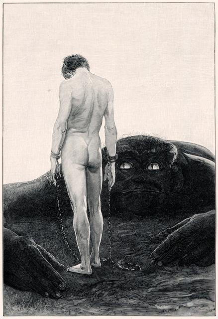 Sascha Schneider, 'Der Gefühl Der Abhängigkeit', 1894-1895, Studio Mariani Gallery