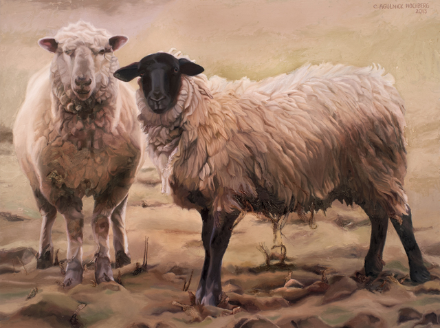 , 'Muddy Sheep,' 2016, Paraphé