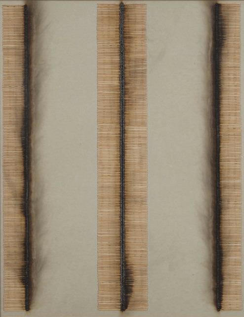 , 'Parcours d'allumettes,' 1974, De Buck Gallery