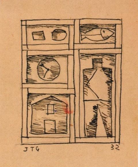 , 'Constructive,' 1932, Galería de las Misiones