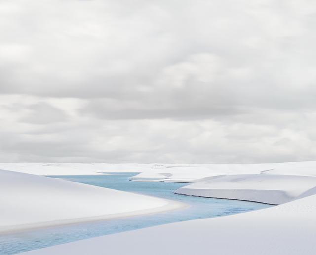 , 'Rio Azule I, Lencios Maranhenses,' 2013, Gilman Contemporary